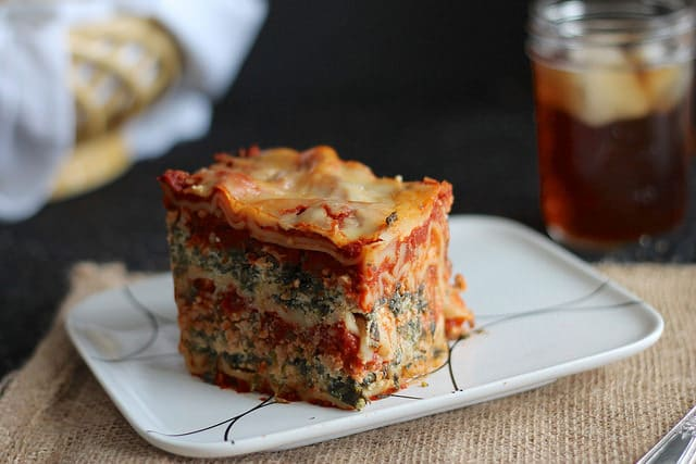 Slow Cooker Lasagna - 15 Back to School Crockpot Recipes