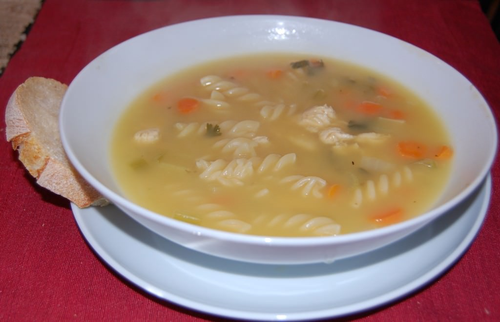 Comforting Chicken Noodle Soup Recipe made by A Cedar Spoon