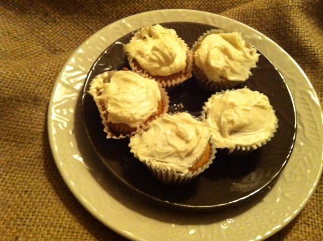 Carrot Cupcakes - A Cedar Spoon