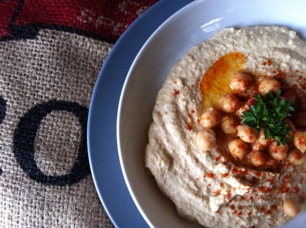 Hummus Recipe from A Cedar Spoon
