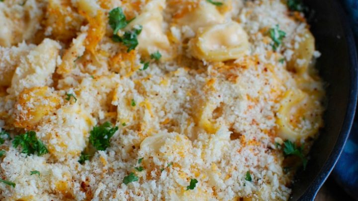 Baked Mac and Cheese with Panko Breadcrumbs