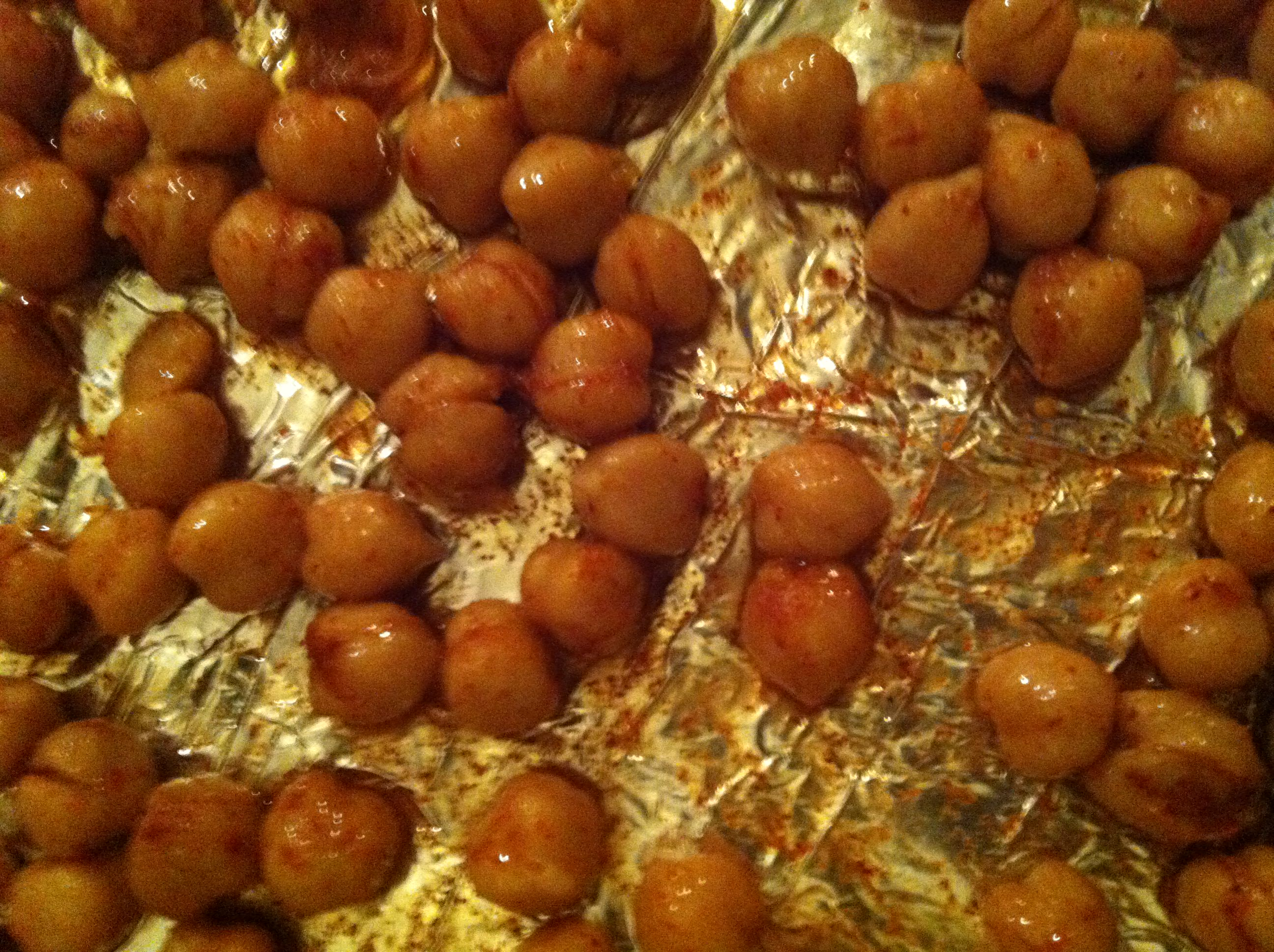 baking - Roasted Chickpeas