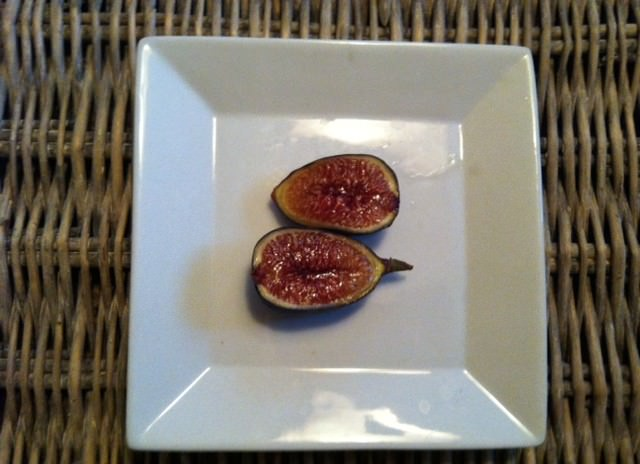 sliced fresh fig - Roasted Figs