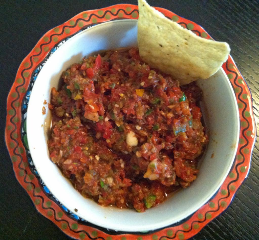 Kickin Salsa! Easy Recipe From A Cedar Spoon