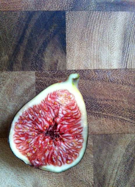 fig halves - Roasted Figs