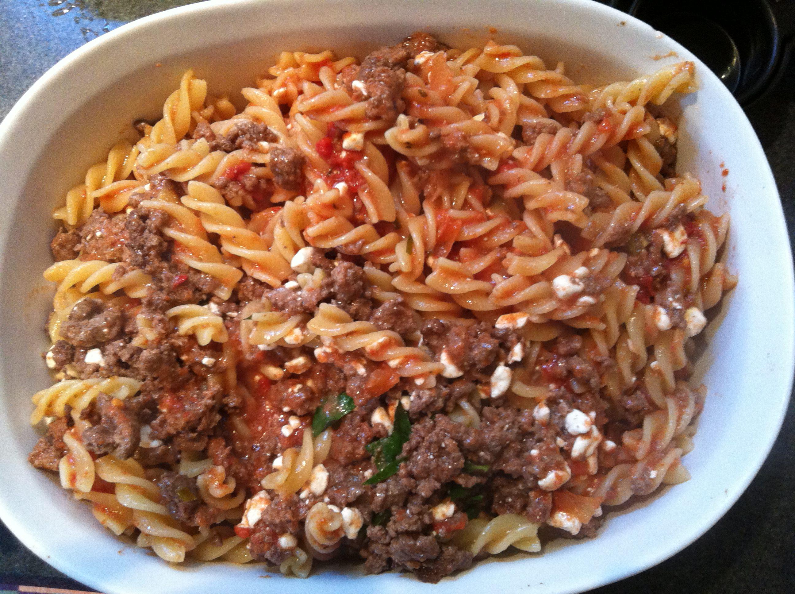 Easy Italian Pasta Bake - yum!