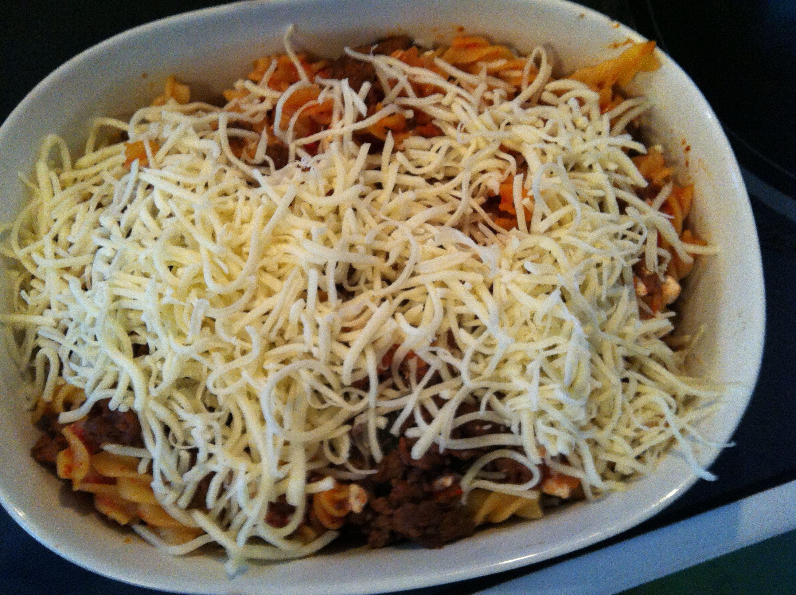 cheesy - Easy Italian Pasta Bake