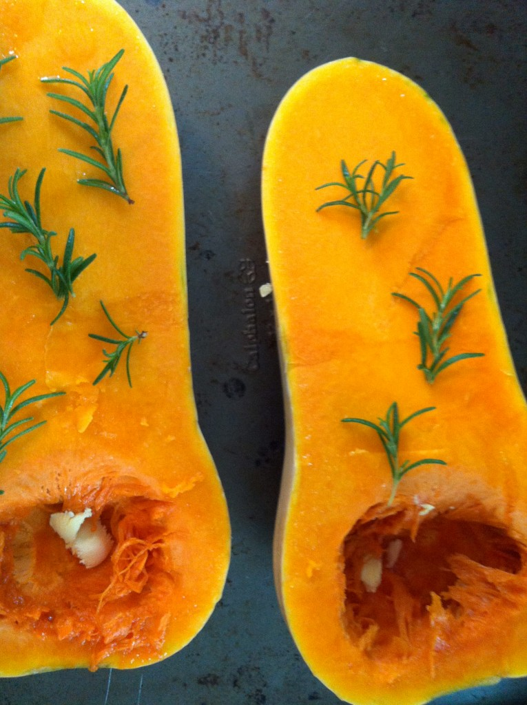 rosemary - Roasted Butternut Squash Soup