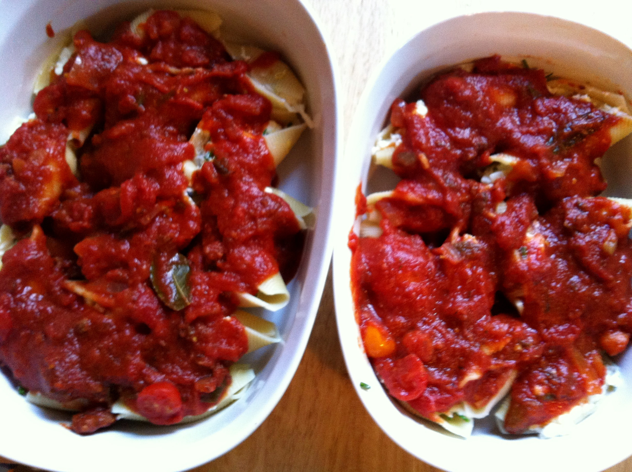 """Stuffed Shells fall into the """"comfort food"""" category for me. I ..."""