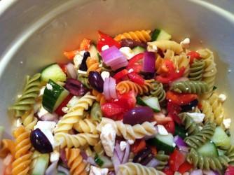 mixed up - Greek Pasta Salad