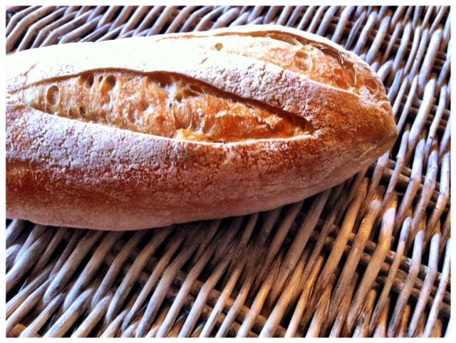 Tomato and Parmesan Toasted Baguette - good bread