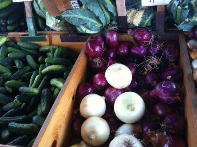onions - Heirloom Caprese Salad