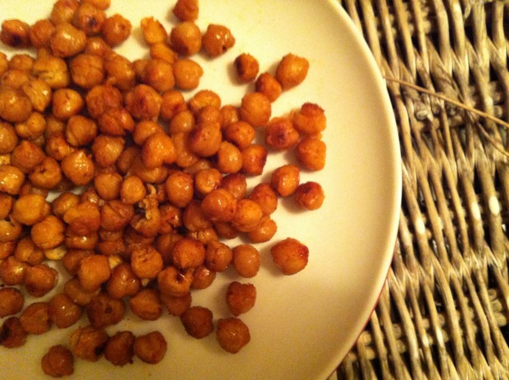 Roasted Chickpeas - A Cedar Spoon