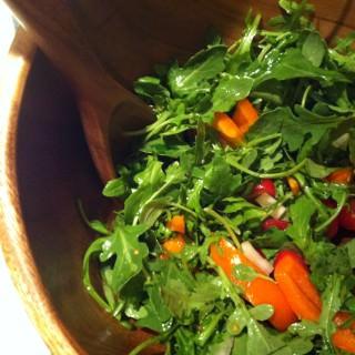 Arugula Salad with Sesame Vinaigrette