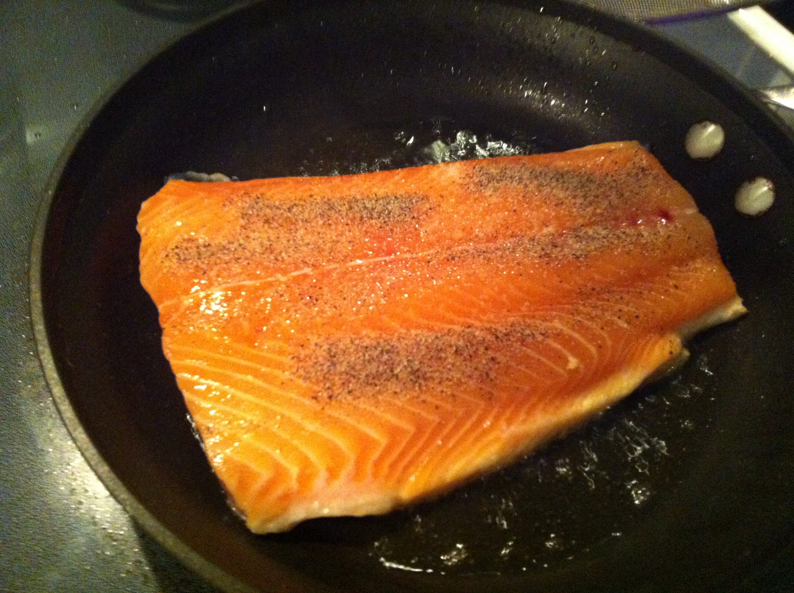 how to cook salmon without skin