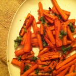 Paprika Roasted Carrots with Cilantro featured picture