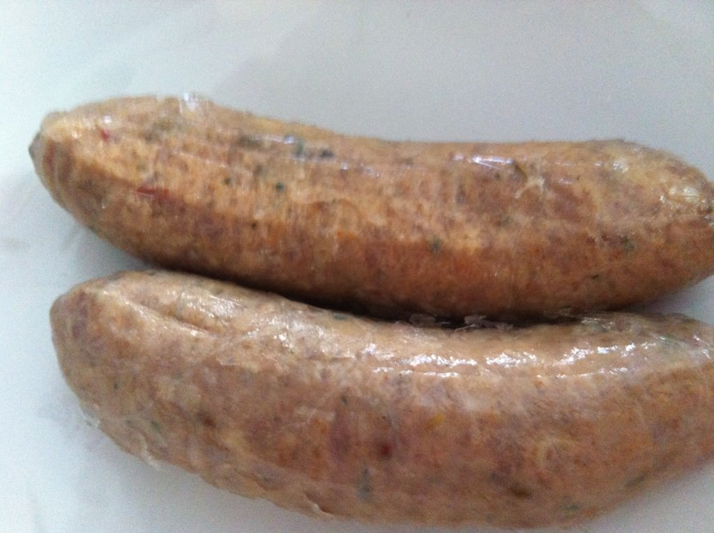 spicy Italian sausage for Penne with Turkey Sausage