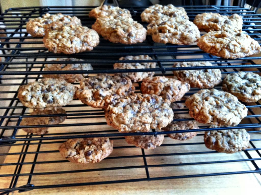 Whole Wheat Oatmeal Chocolate Chip Cookies {and a debate hangover} - A ...
