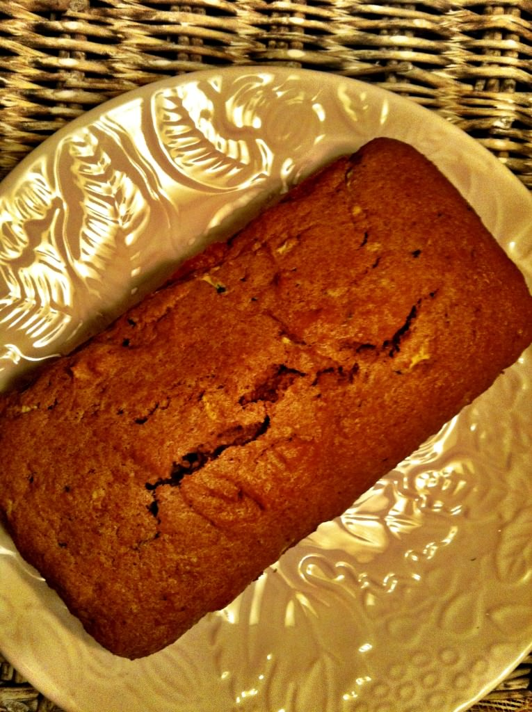 Pumpkin Zucchini Bread quickbread loaf
