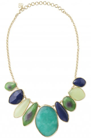 Stella and Dot necklace - White Pear and Apple Sangria post