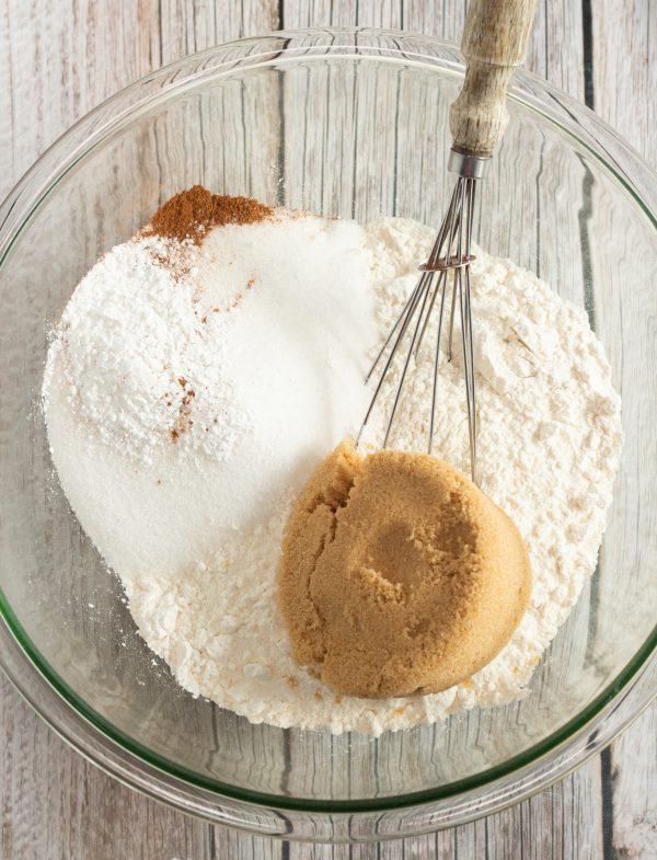 Cranberry Bread Recipe in bowl