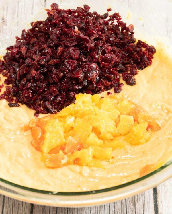 Cranberry Bread Recipe cranberries