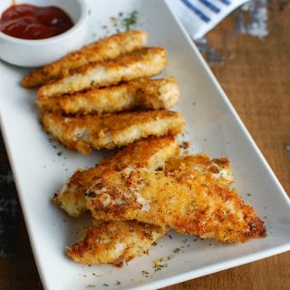 Healthy Baked Chicken Fingers