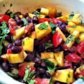 Mango and Black Bean Salsa from A Cedar Spoon