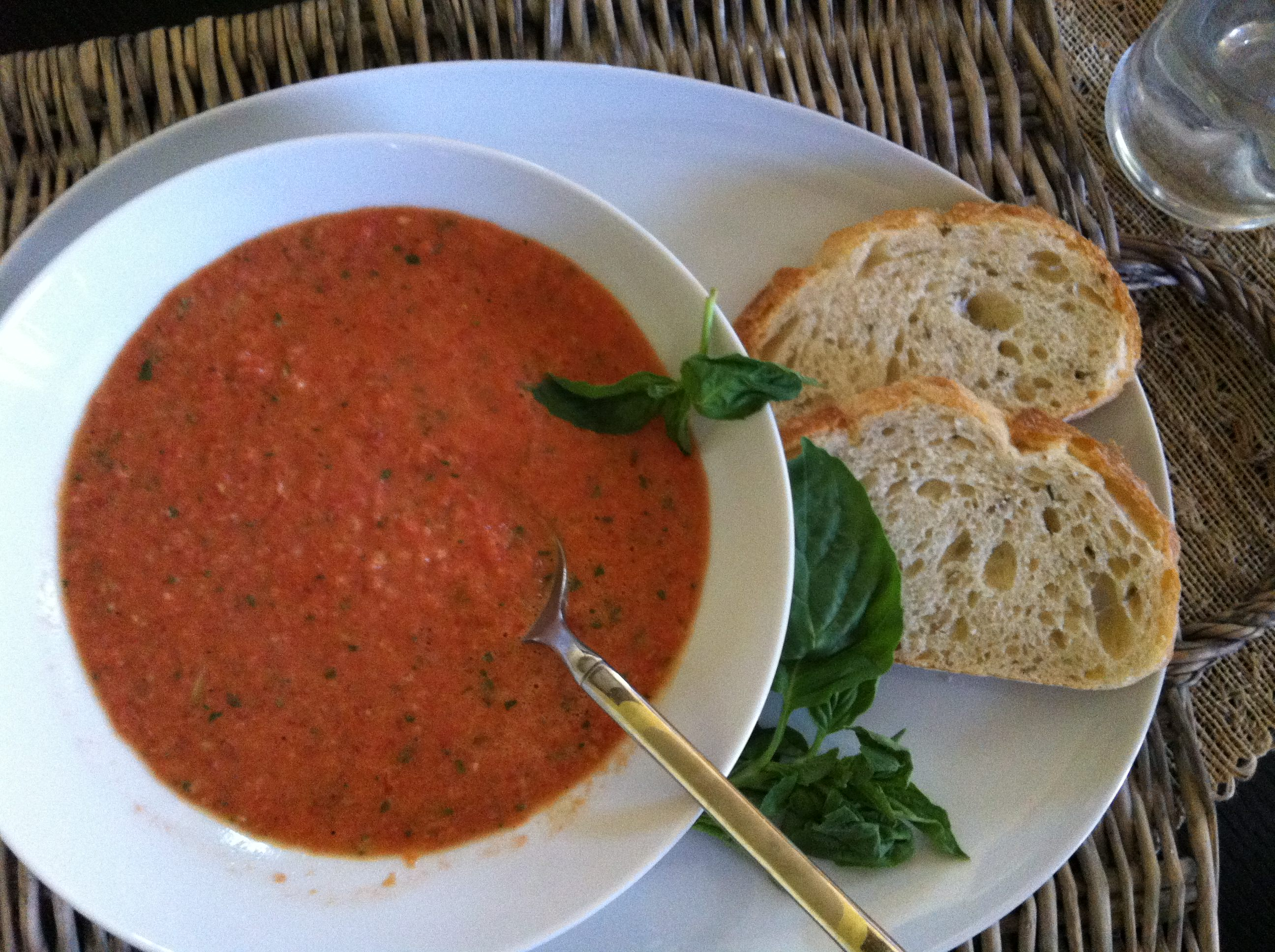 10 Minute Tomato Soup from A Cedar Spoon