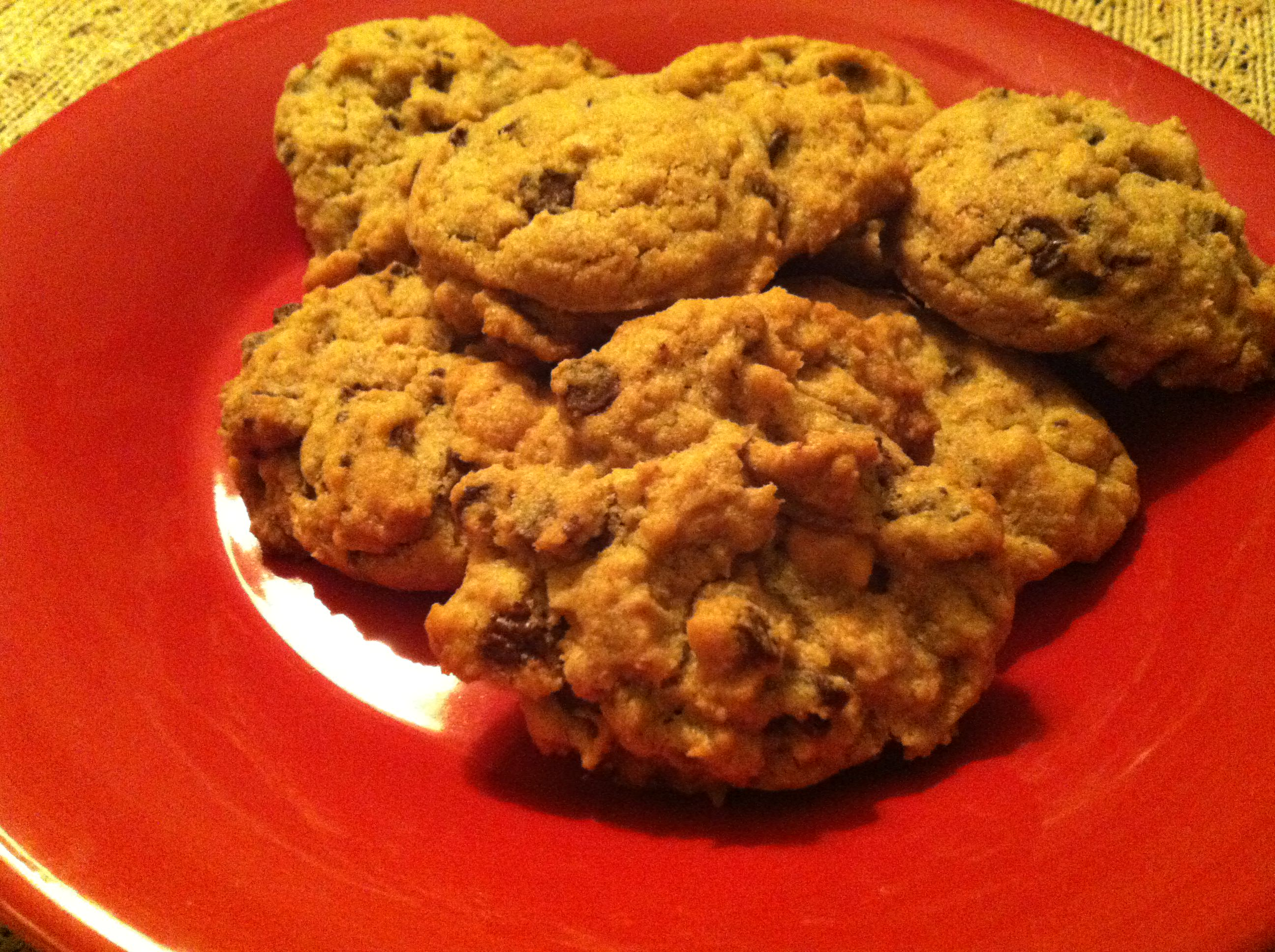 Chocolate and Peanut Butter Chip Cookies from A Cedar Spoon