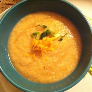 Skinny Baked Potato Soup recipe