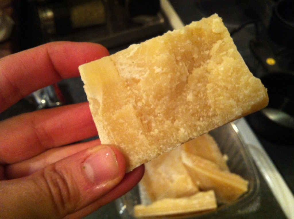 parm rind for Easy Minestrone Soup