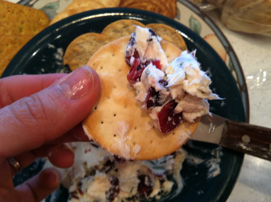 Rosemary Cranberry Spread and dip