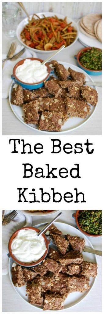 Kibbeh - dinner