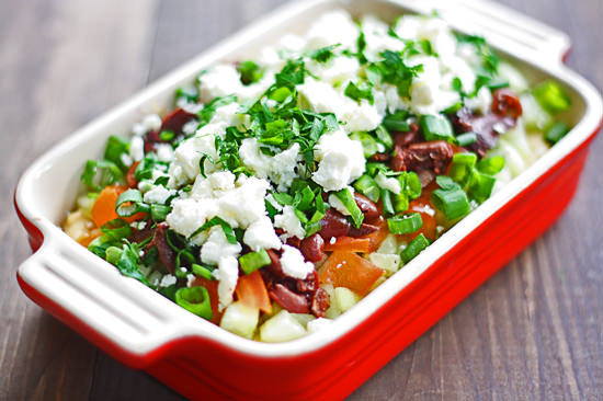 ... Cheese Cups with Pear Hazelnut Green Salad via Cookin Canuck