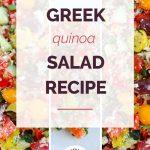 Greek Quinoa Salad Collage 4