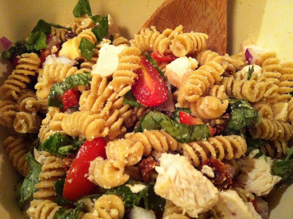 finished Bistro Chicken Pasta Salad