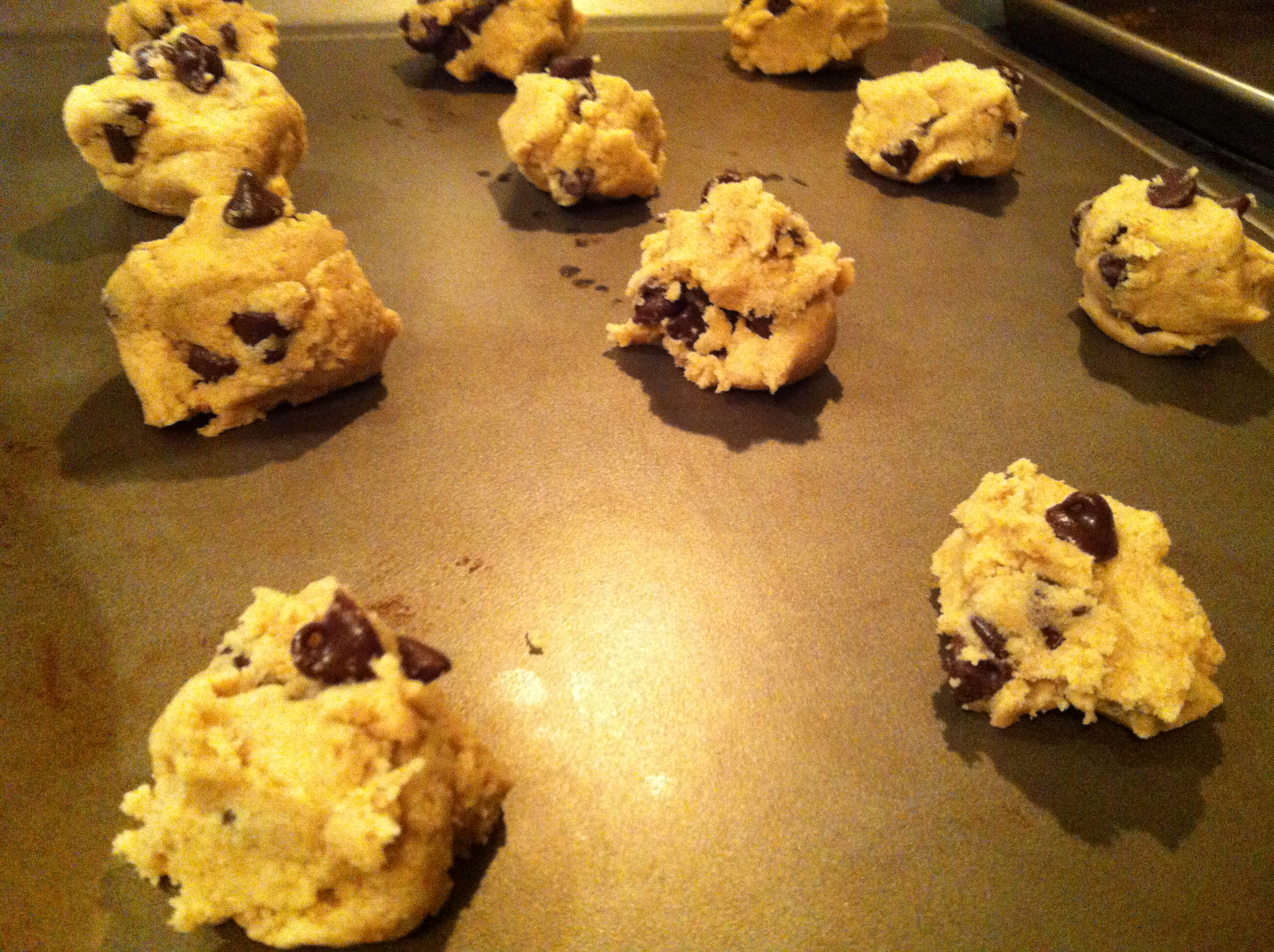 ready to bake Double Chip Chocolate Chunk Cookies
