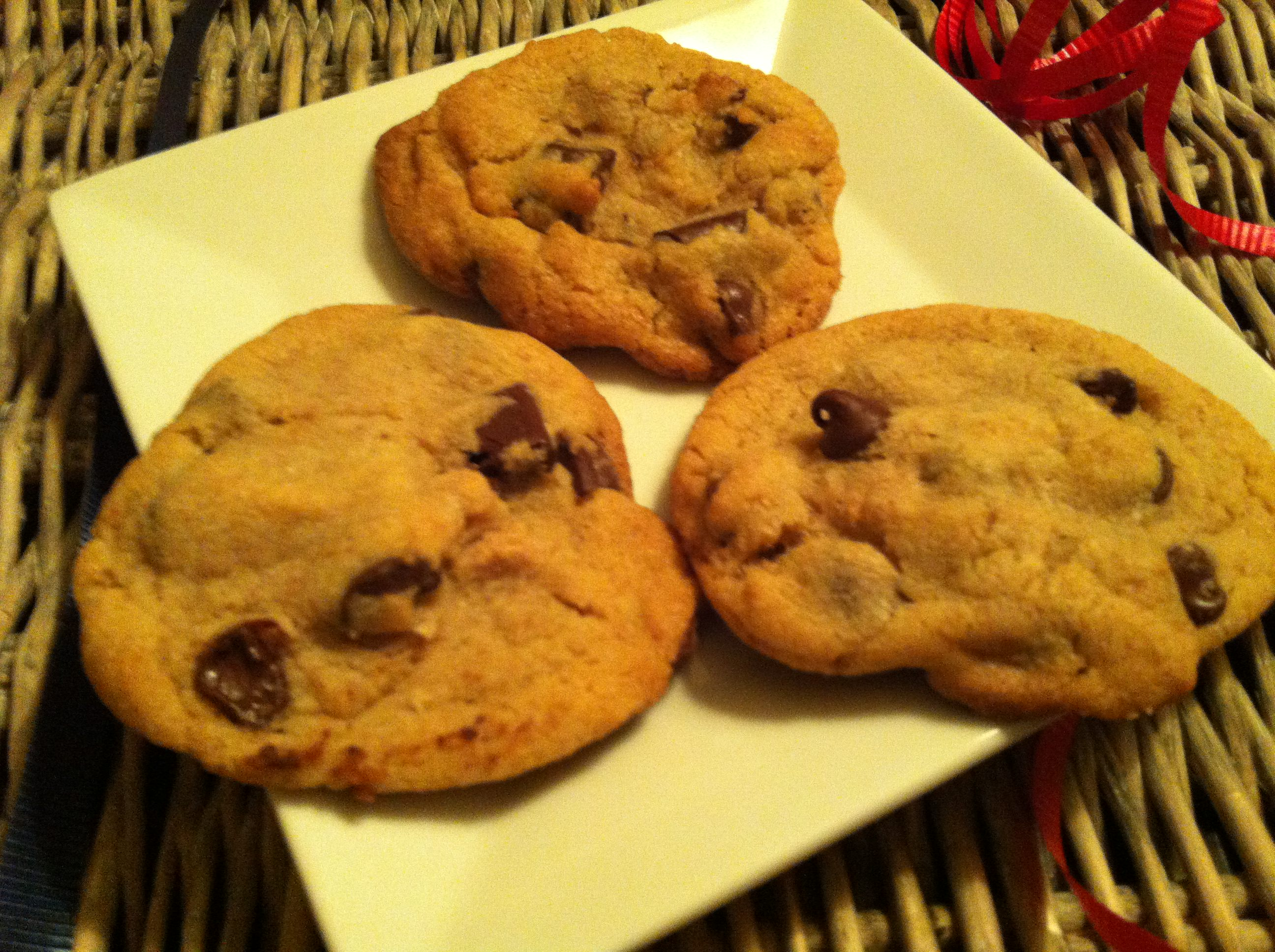 Double Chip Chocolate Chunk Cookies recipe
