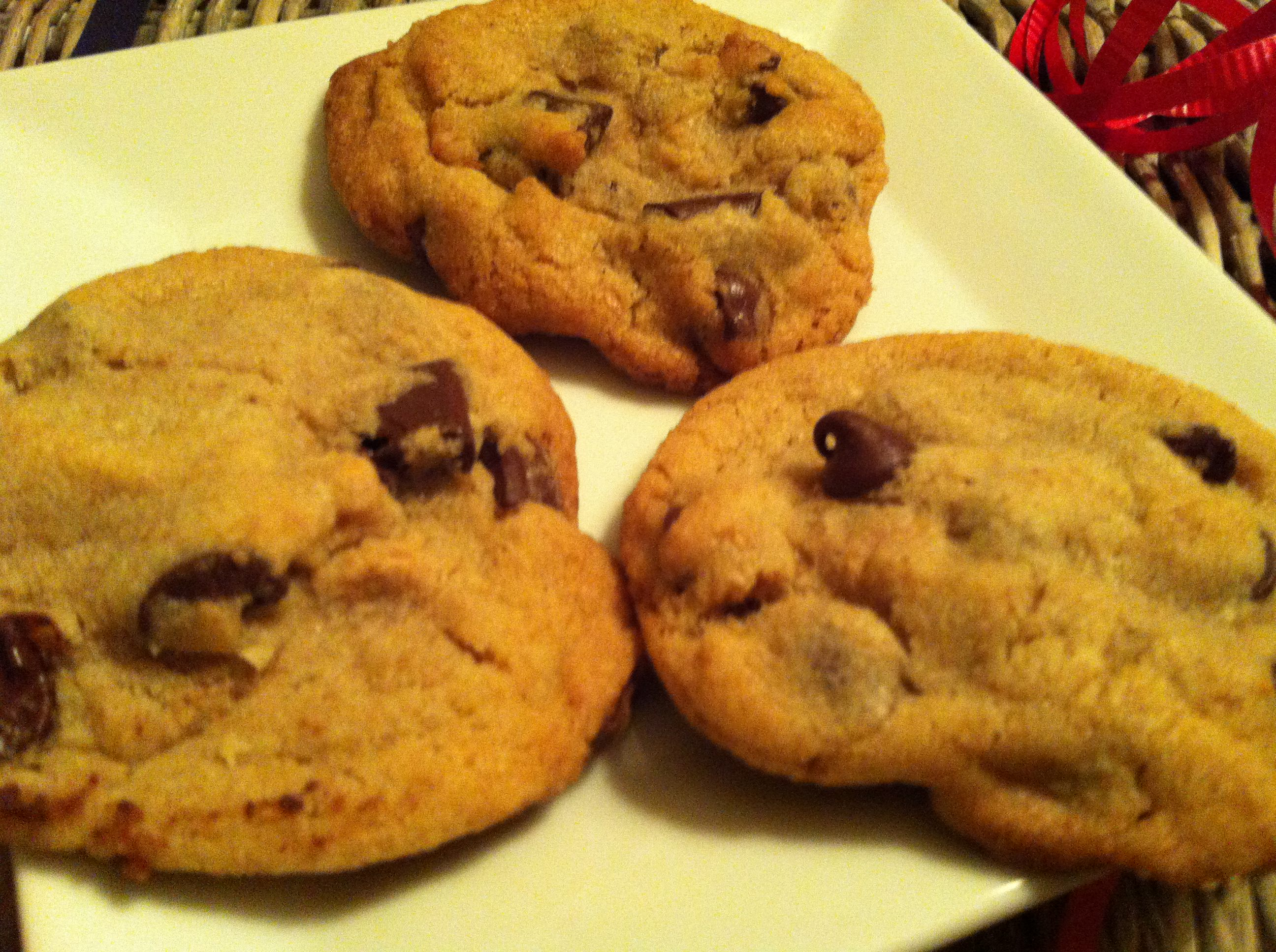 Double Chip Chocolate Chunk Cookies from A Cedar Spoon
