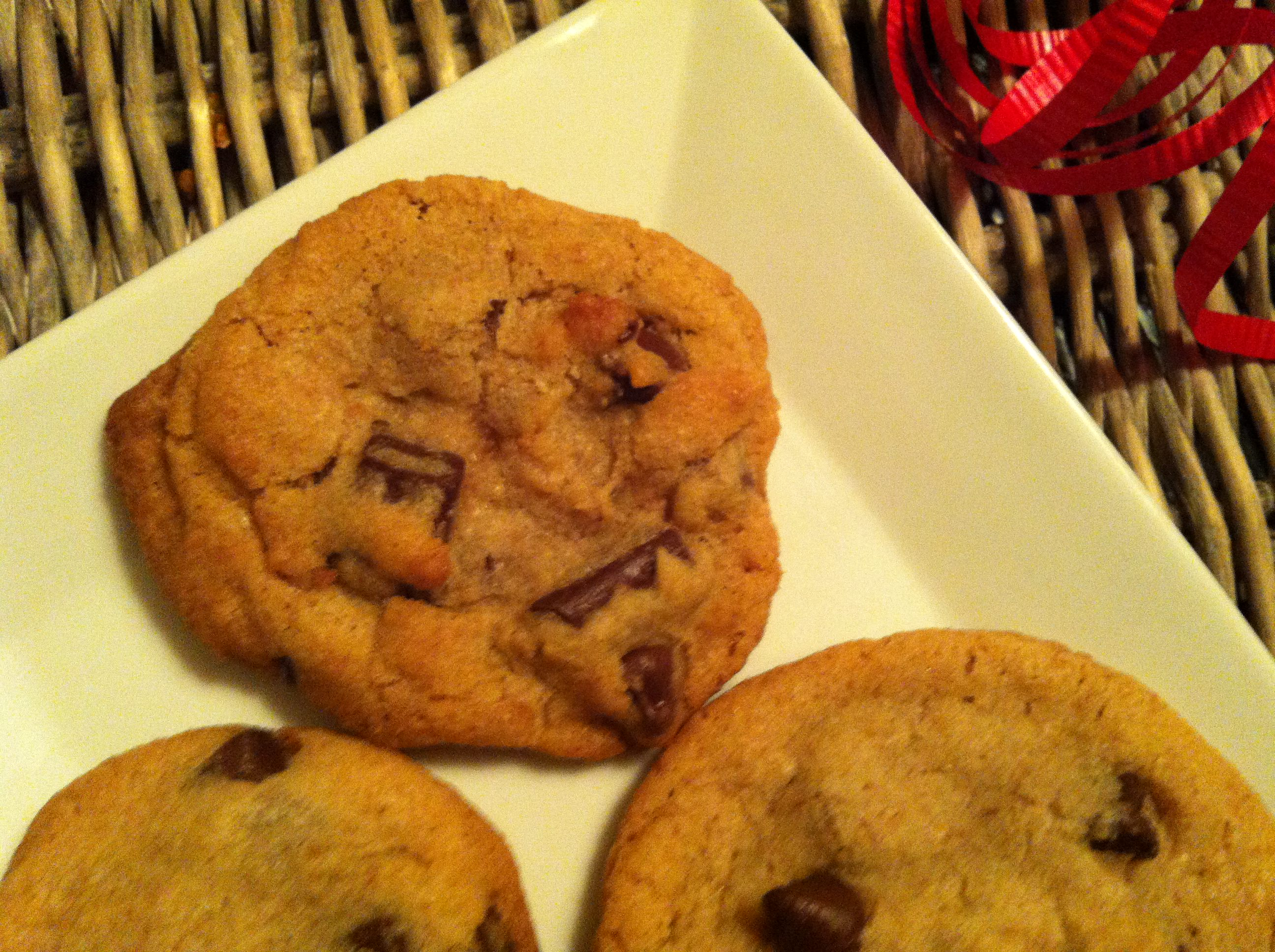 yummy! Double Chip Chocolate Chunk Cookies