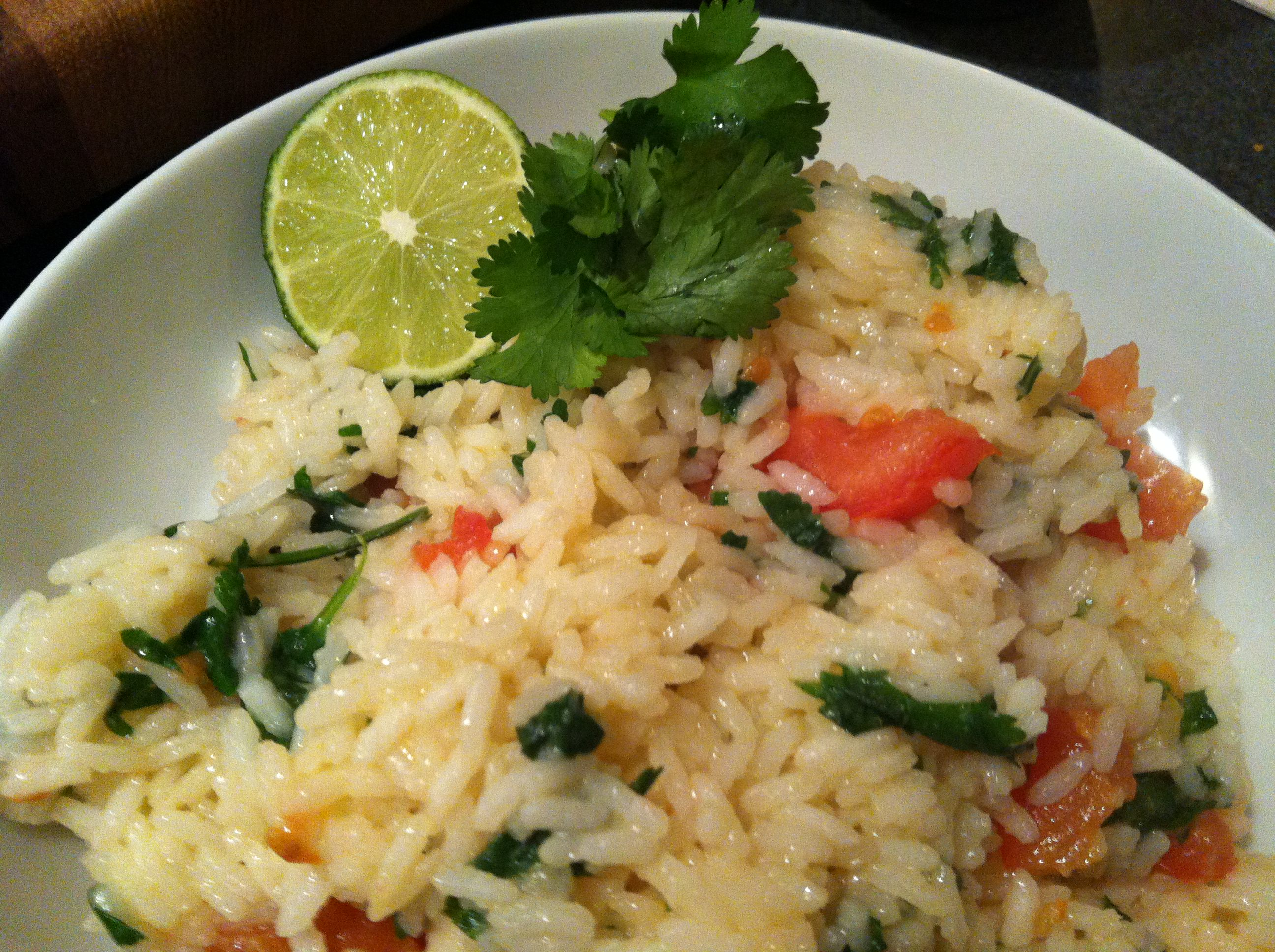 Cilantro Lime Rice - A Cedar Spoon