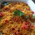 Skinny Seven Layer Dip recipe from A Cedar Spoon