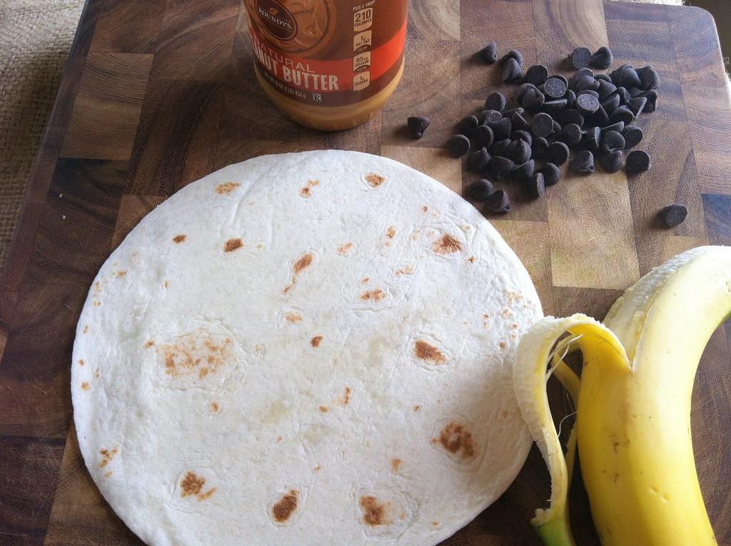 quesadilla for making a Dulce Quesadilla