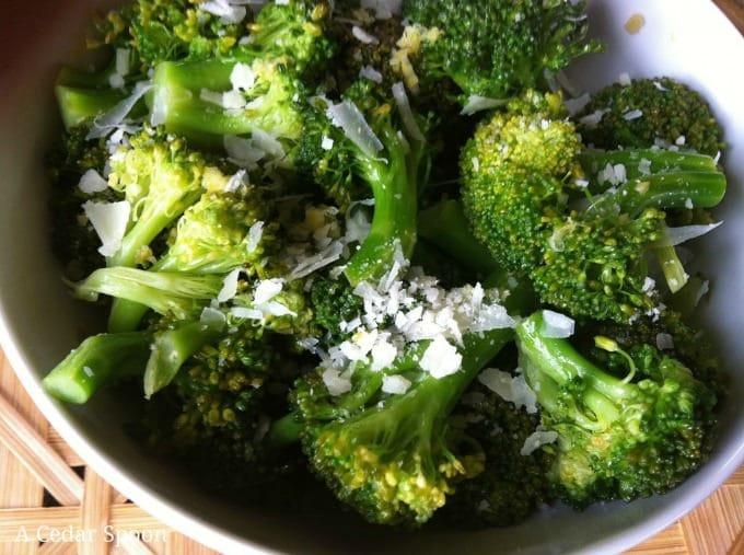 delicious Lemon Parmesan Broccoli