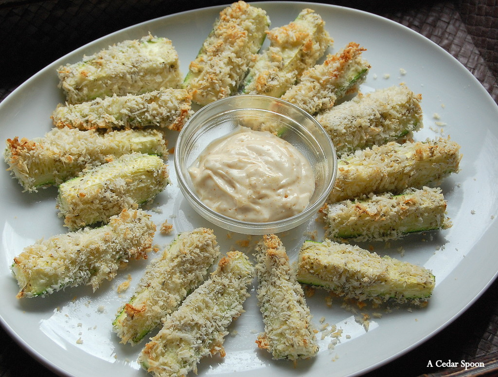 fries - Baked Zucchini Fries
