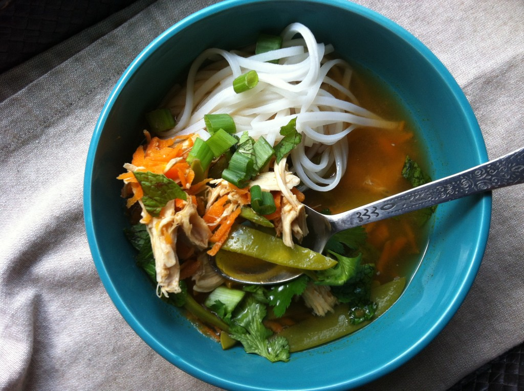Spicy Asian Chicken And Noodle Soup Recipe A Cedar Spoon