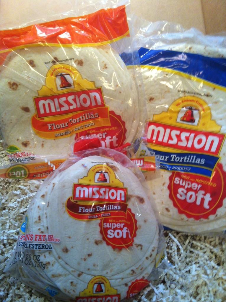 tortillas for Dulce Quesadilla recipe