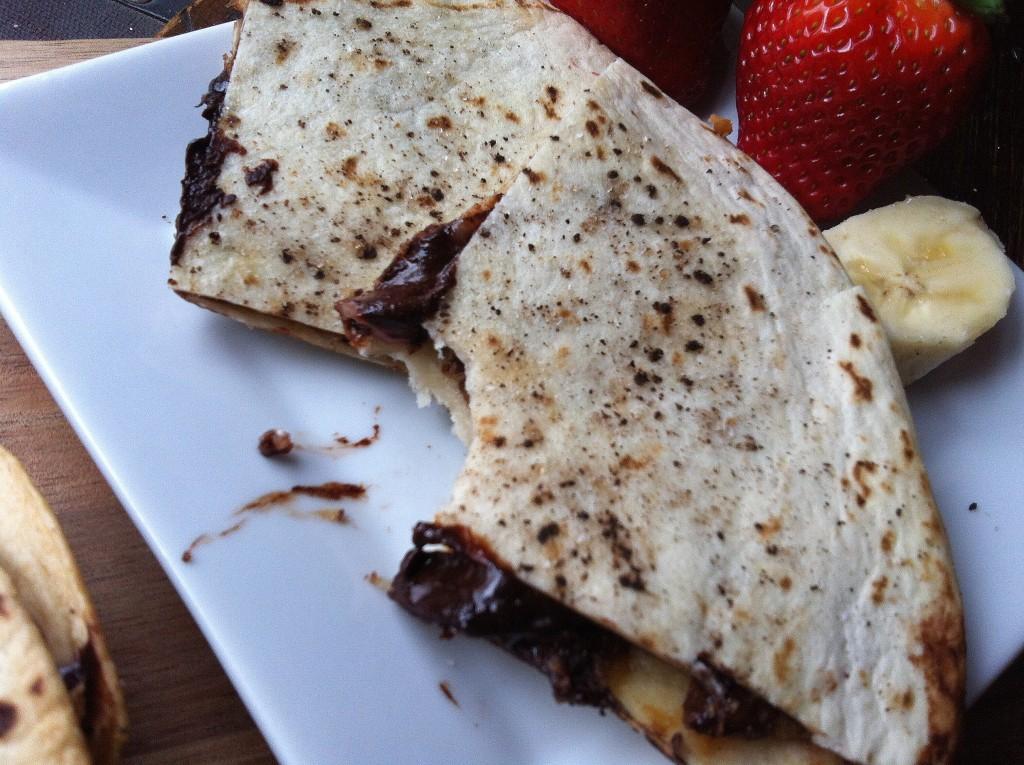 Dulce Quesadilla - yummy
