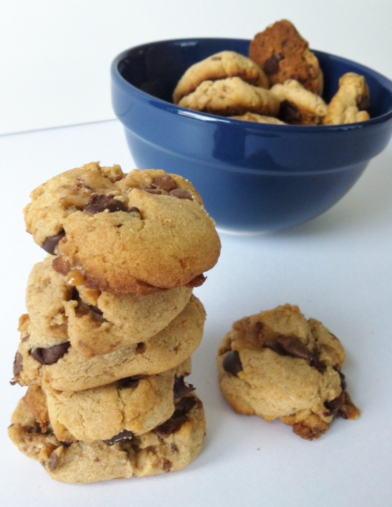 Peanut Butter Toffee Cookies recipe
